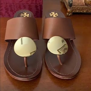 Tory Burch Patos Disk Sandal, 1.8 heel,